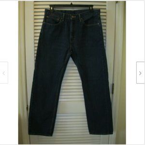 Levi's 505 Jeans Size 36X32 Red Tab Very Nice!